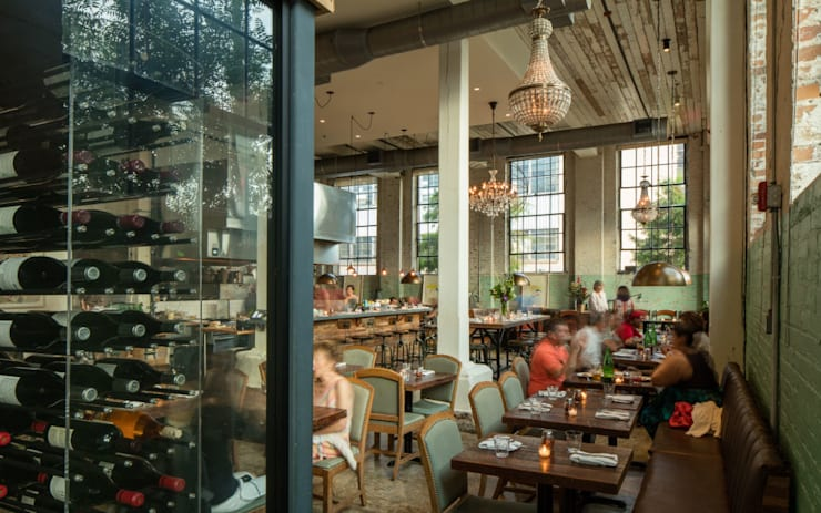 Paladar 511-An upscale pizza restaurant in New Orleans:  Gastronomy by studioWTA