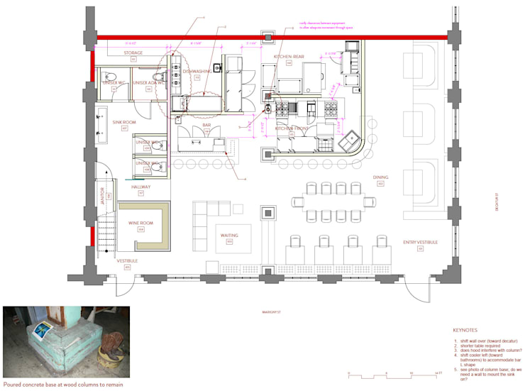 Plans, 511 Paladar, First Floor:   by studioWTA