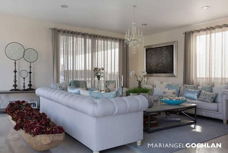 Modern Living Room by MARIANGEL COGHLAN Modern