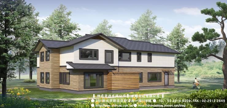 日式鋼骨結構  專案:   by 翔霖營造有限公司