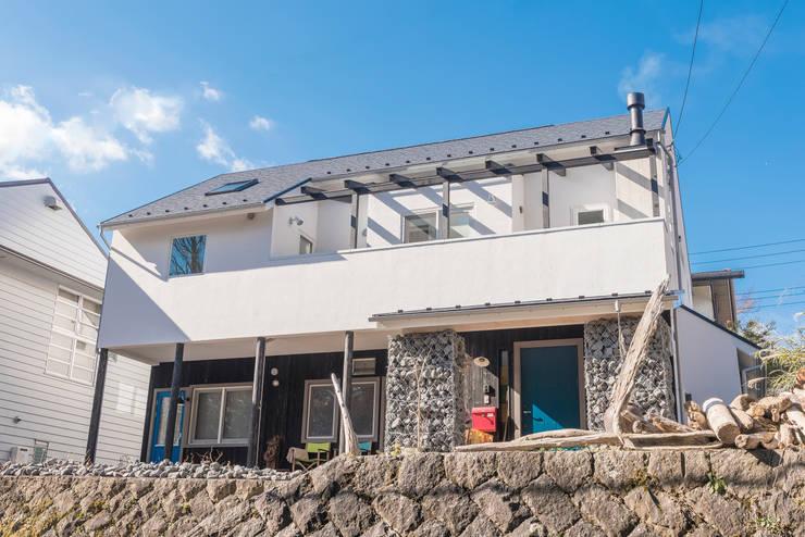 小山町 N邸: HAPTIC HOUSEが手掛けた家です。