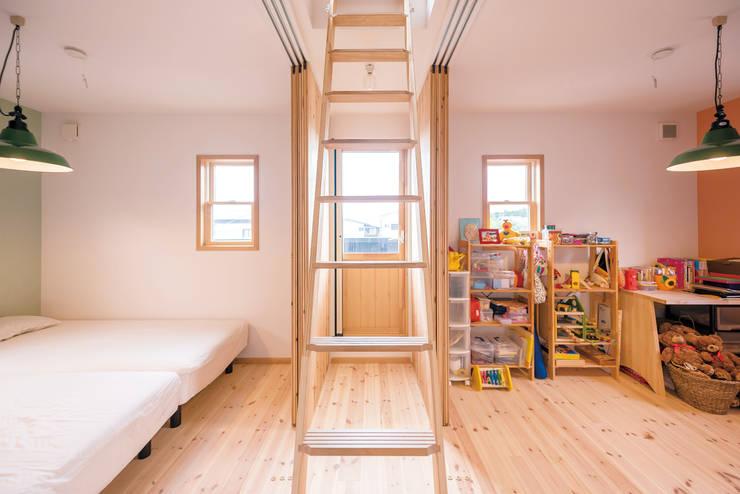 嬰兒房/兒童房 by HAPTIC HOUSE