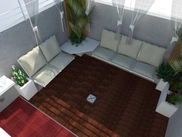 Renders de Propuesta:  de estilo  por Claroscuro Diseño Interior