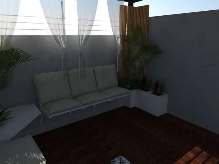 Render de Propuesta:  de estilo  por Claroscuro Diseño Interior