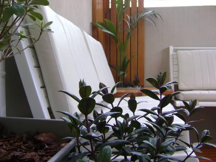 Patio Interno:  de estilo  por Claroscuro Diseño Interior
