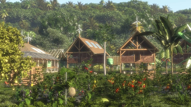 Sustainable housing project in Apetina, Suriname:   door Architectenbureau Spaltman, Tropisch
