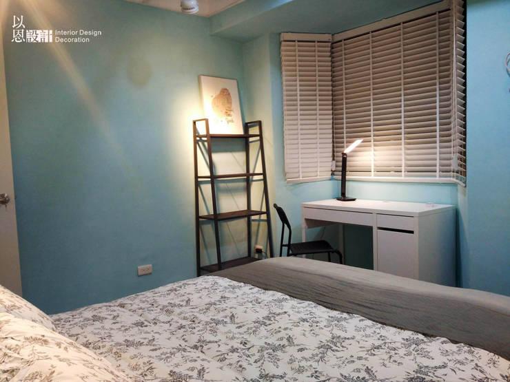 次臥:  臥室 by 以恩設計