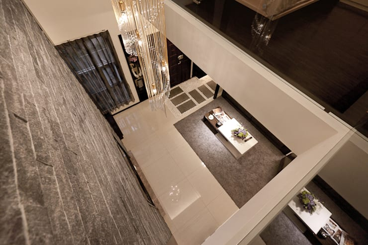 Livings de estilo  por 芸采創意空間設計-YCID Interior Design