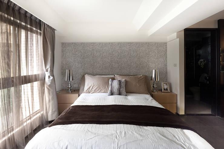 Dormitorios de estilo  por 芸采創意空間設計-YCID Interior Design