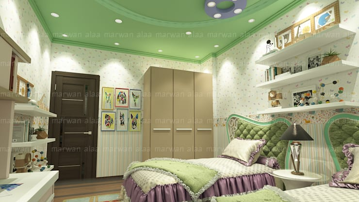 Bedroom by EHAF Consulting Engineers