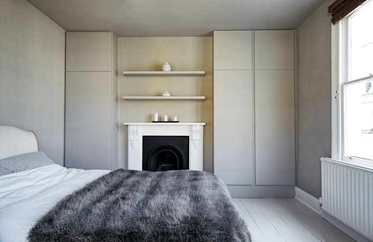 Stoke Newington:  Bedroom by House of Sylphina