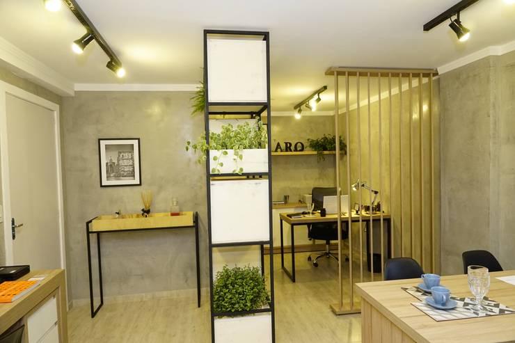 Phòng học/Văn phòng by Jorge Machado arquitetura