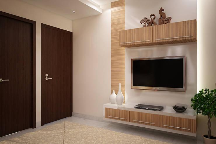 BED ROOM:   by MOONA DESIGN STUDIO
