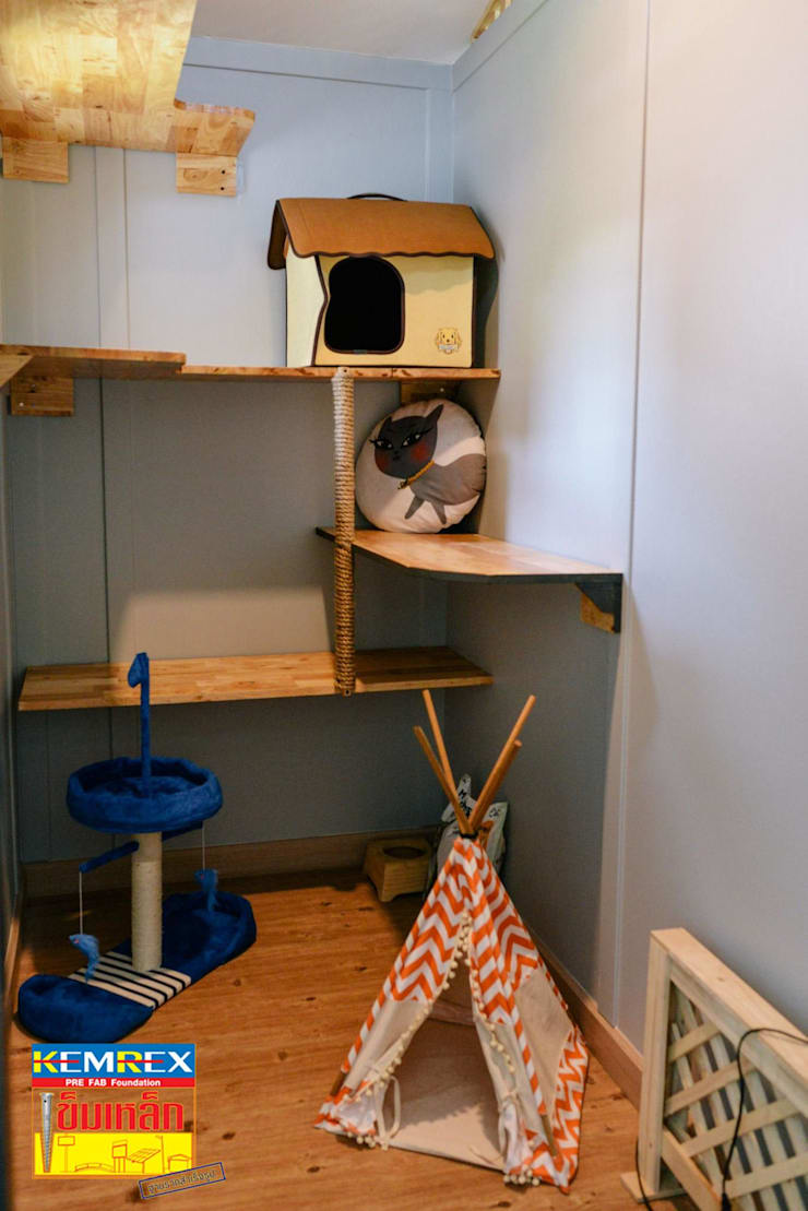 ฐานรากบ้านน็อคดาวน์แมว คุณธนานิษฐ์:   by บริษัทเข็มเหล็ก จำกัด