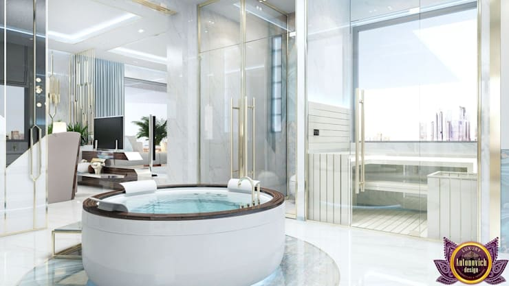 Spas  por Luxury Antonovich Design, Escandinavo
