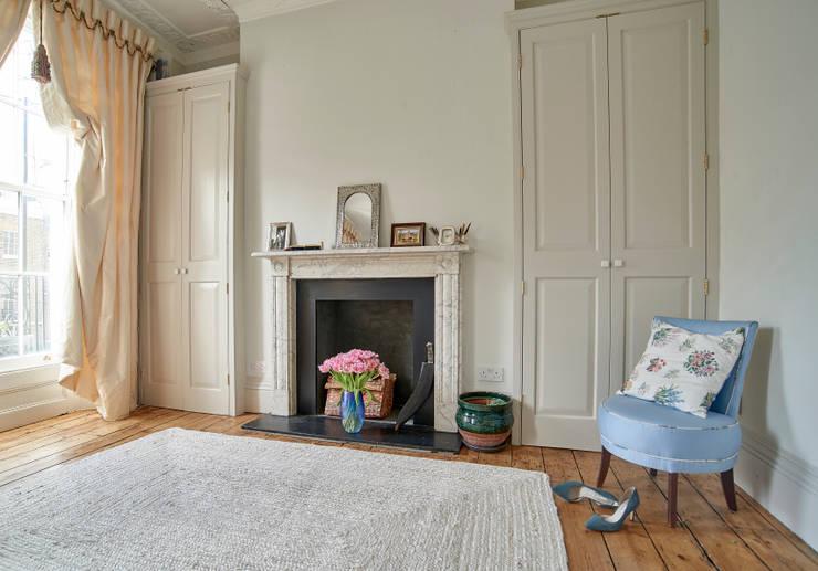 غرفة نوم تنفيذ Purdom's Bespoke Furniture