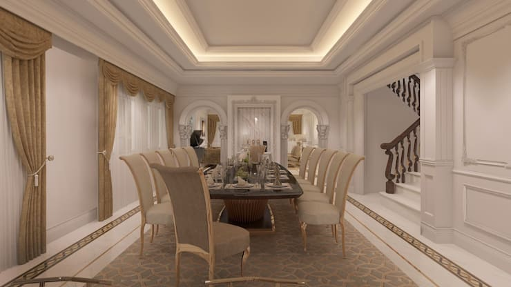 ออกแบบภายในบ้านหรู:   by interiorBKK