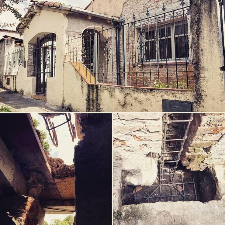 REMODELACION CASA SAN: Casas de estilo  por ESTUDIO CRUZ