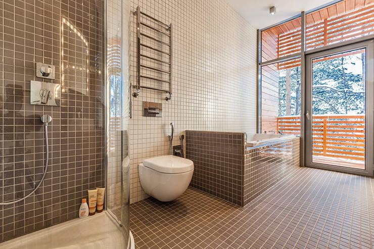 Projekty,  Łazienka zaprojektowane przez DK architects