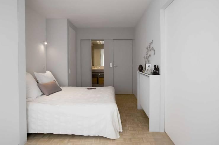 غرفة نوم تنفيذ Dominique Paolini Design