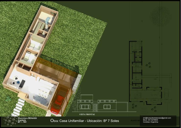 Proyecto 7 Soles Argentina: Casas de estilo  por BENGAL CONSTRUCCIONES