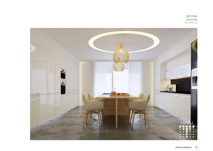 Dapur by Tepeli İç Mimarlık