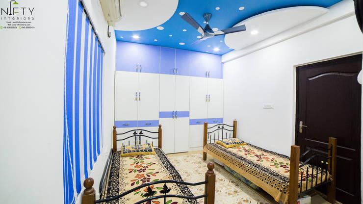 غرفة نوم تنفيذ Nifty Interio