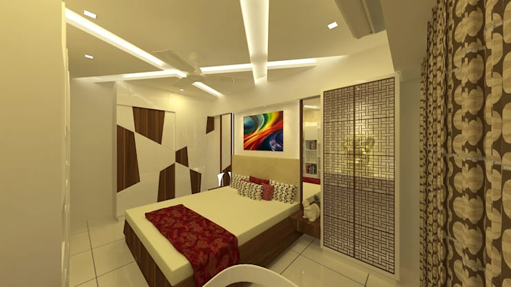 modern Bedroom by Midas Dezign