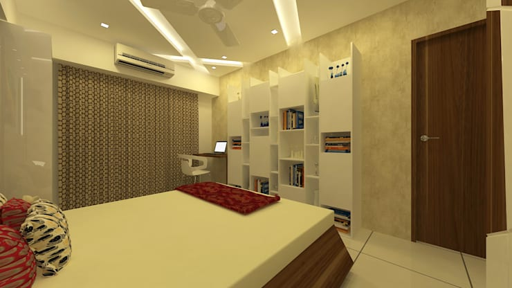 INTERIOR:  Bedroom by Midas Dezign
