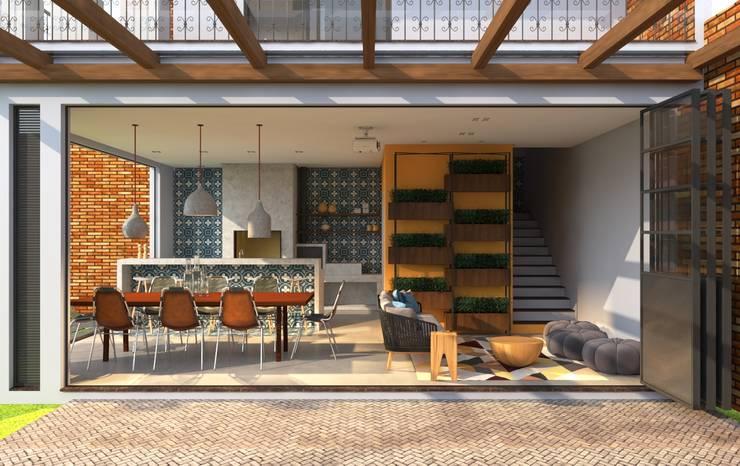 RAA: Garagens e edículas  por Angelica Pecego Arquitetura
