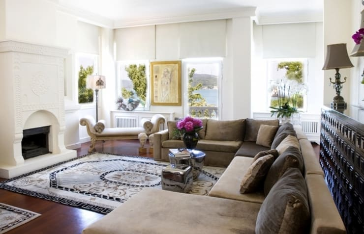 eclectic Living room by Edda İstanbul Proje Mimarlık