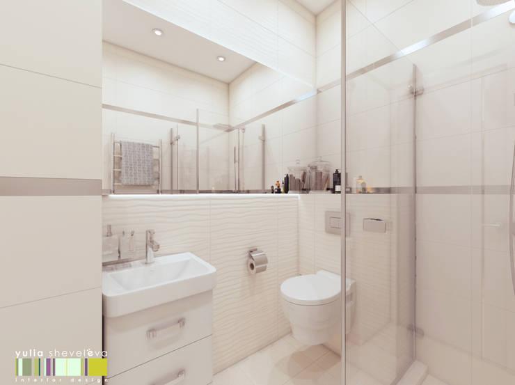 БАЛТИЙСКИЙ БЕРЕГ: Ванные комнаты в . Автор – Мастерская интерьера Юлии Шевелевой