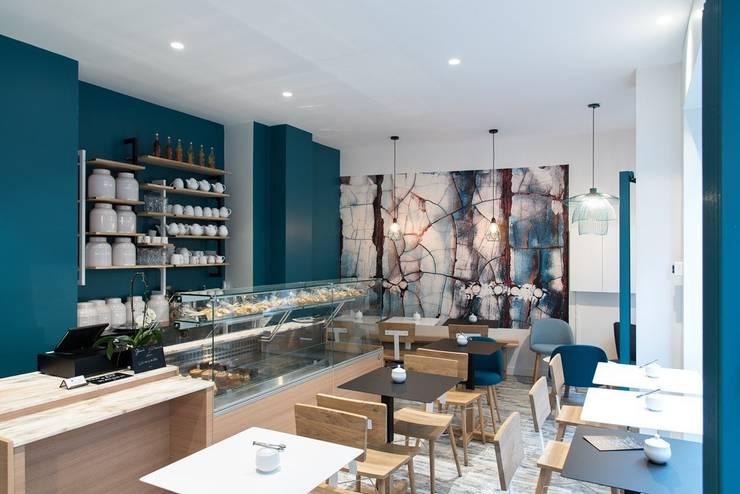 Agencement et décoration d\'un salon de thé (Paris 12e) von ...
