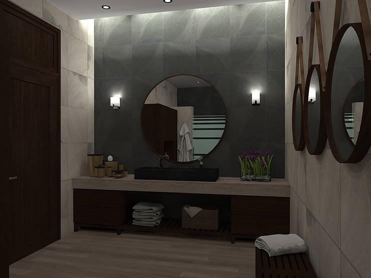 Baños de estilo moderno por homify