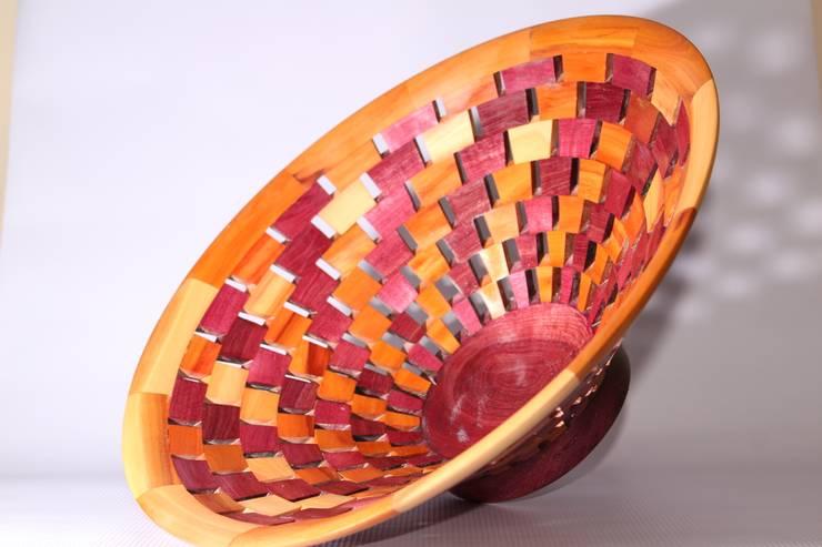 Centro de mesa segmentado: Arte de estilo  por TORNEARTE TALLER