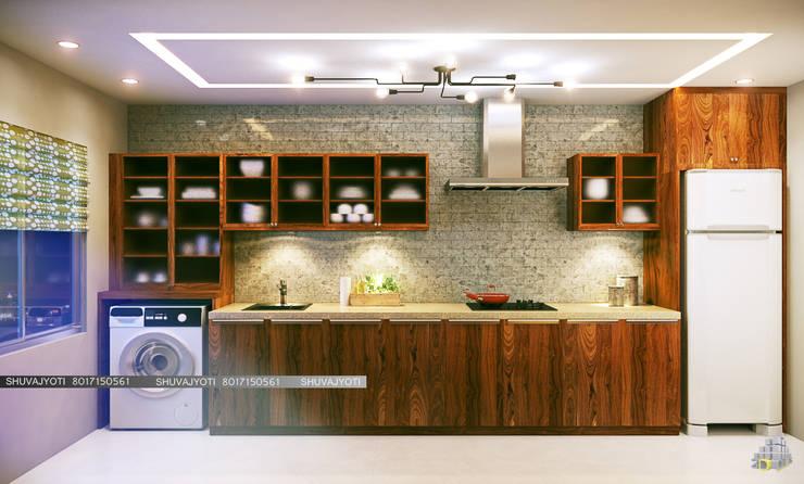 3D VISUALIZATION:  Kitchen by FREELANCE
