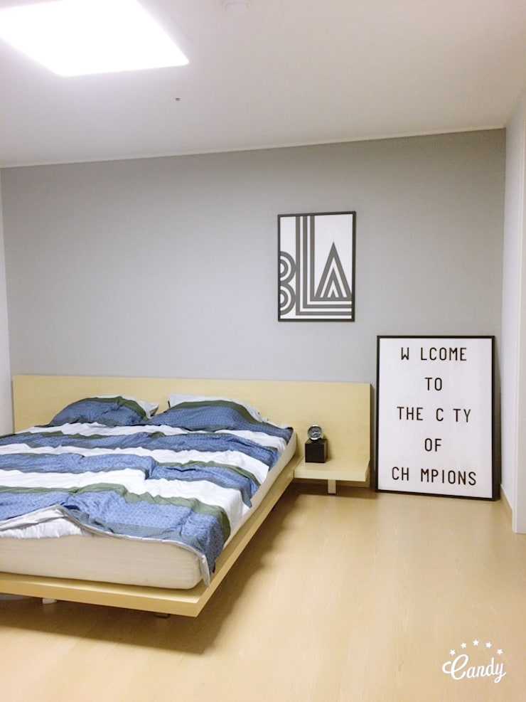Kamar Tidur oleh homelatte, Modern