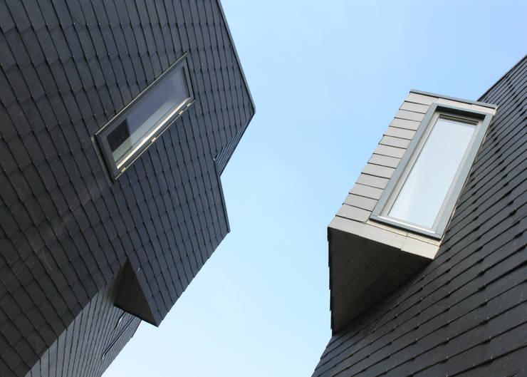 Façetvilla's IJburg:  Ramen door TEKTON architekten