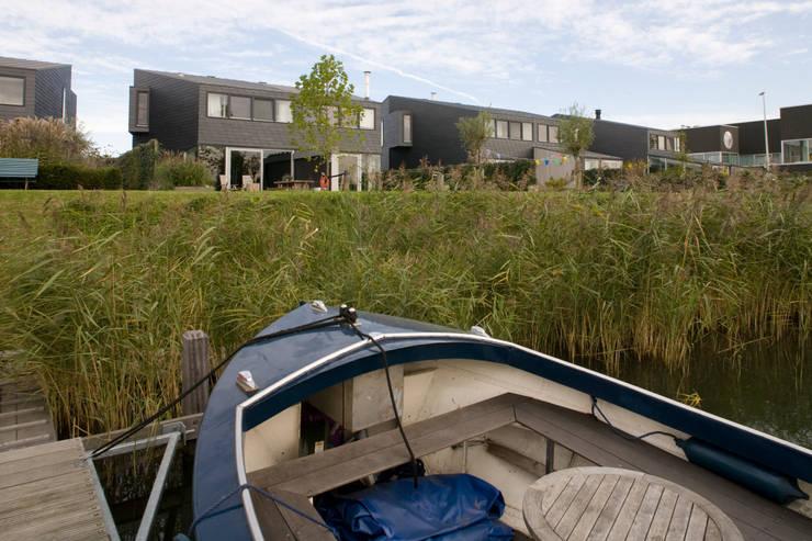 Façetvilla's IJburg:  Huizen door TEKTON architekten