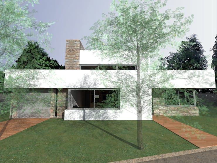 Casas de estilo  por JIEarq