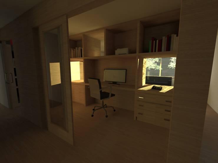 Estudios y oficinas de estilo  por JIEarq
