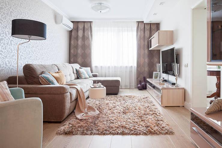 غرفة المعيشة تنفيذ Pegasova design