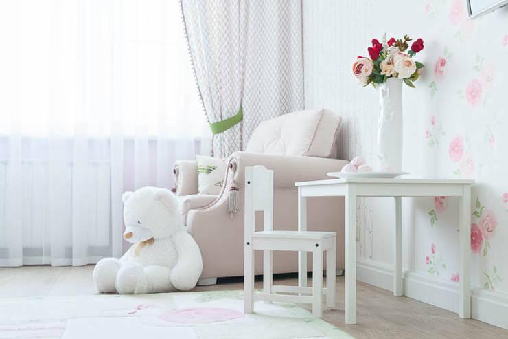 غرفة الاطفال تنفيذ Pegasova design