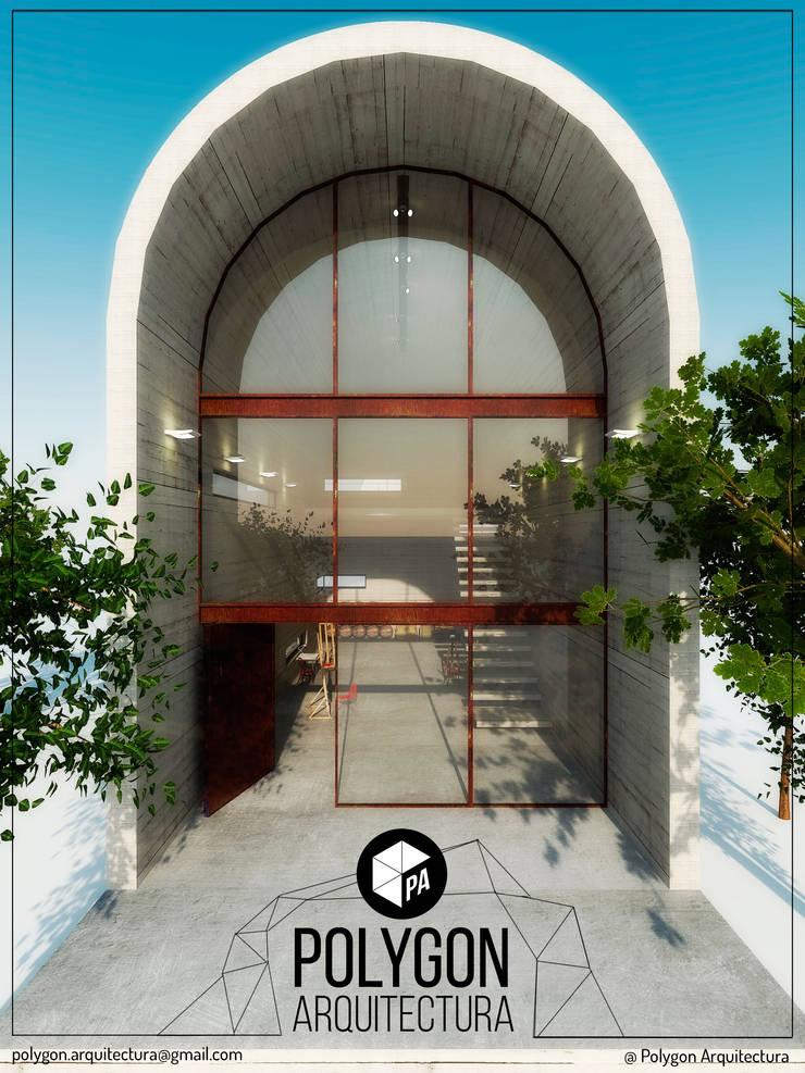 Art Warehouse / A31Architecture: Casas de estilo  por Polygon Arquitectura, Industrial