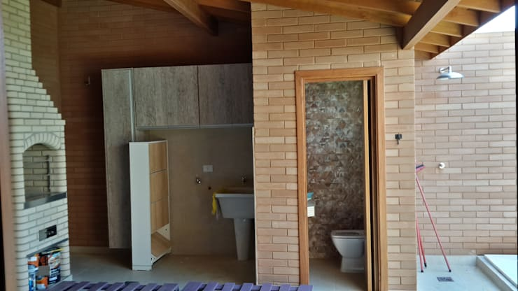 Baños de estilo  por EKOa Empreendimentos Sustentáveis
