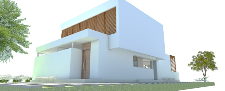 Huizen door Arquitecta Obadilla, Modern