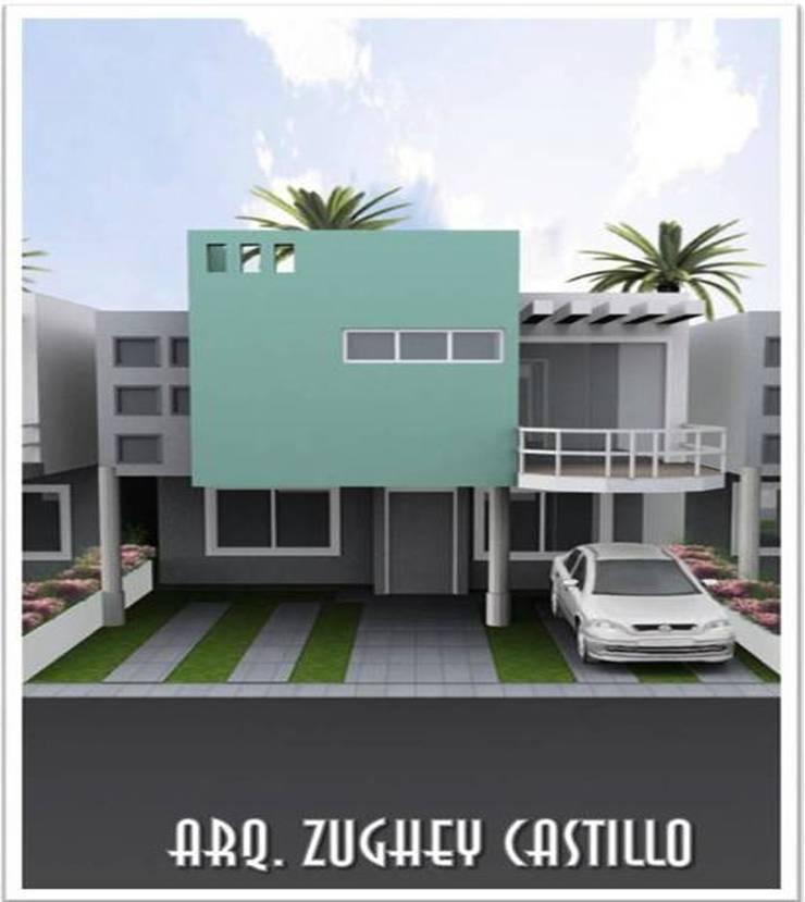 CONJUNTO RESIDENCIAL SANTA MARIA VILLAGE: Casas de estilo  por ARQUITECTURA DIGITAL