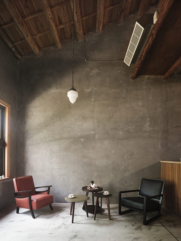 Eclectic style living room by 墐桐空間美學 Eclectic