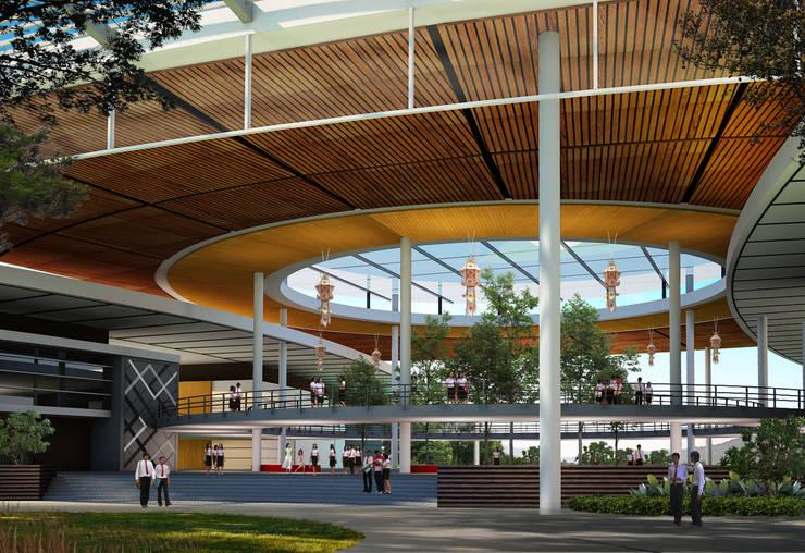 กลุ่มอาคารเอนกประสงค์  มหาวิทยาลัยราชภัฏเชียงใหม่:   by PM DESIGN co.,ltd