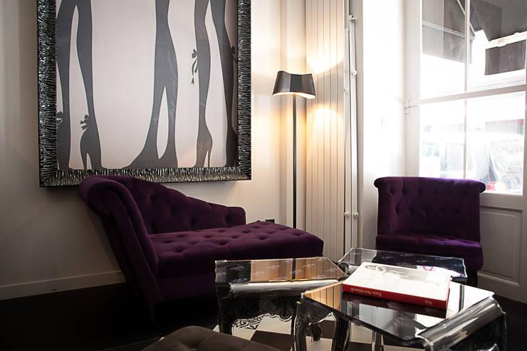 Restaurant L'Appartamento :  de style  par Unlimited Design Lab